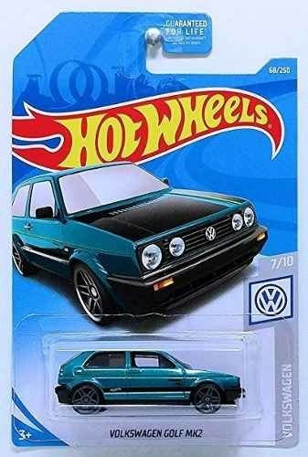 Dos Carro Hotwheels Volkswagen Golf Mk2 Carrito Nuevo Oferta