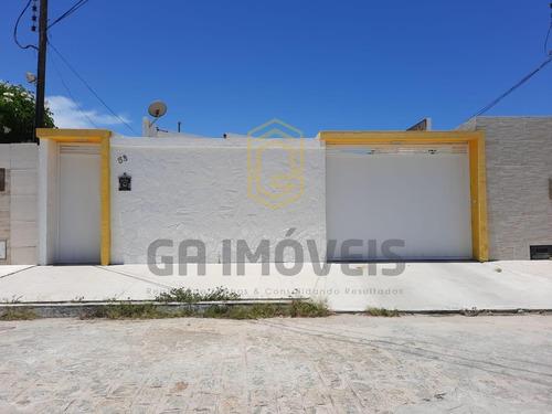 Imagem 1 de 12 de Casa Na Jatiúca, 250m², 5 Quartos, Closet Por Apenas 850mil! - 845