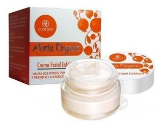 3 Crema Facial Exfoliante 50 Ml Murta Organic Cosedeb +envío