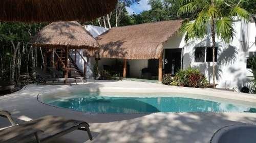 Hermosa Propiedad En La Selva A Solo 15 Min Del Centro De Cancun P2772