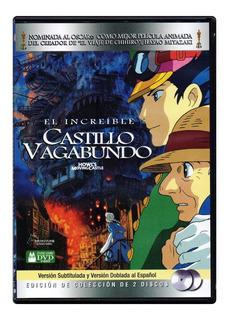 El Increible Castillo Vagabundo Hayao Miyazaki Pelicula Dvd