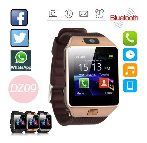 Imagen 1 de 4 de Dz 09 Smart Whatch  Bluetooth Reloj Inteligente