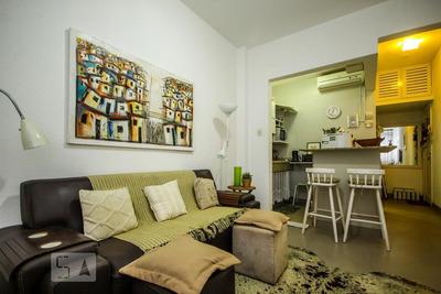 Studio No 10º Andar Mobiliado Com 1 Dormitório - Id: 892906779 - 206779