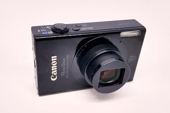 Camera Hd Canon Powershot Elph530 Hs
