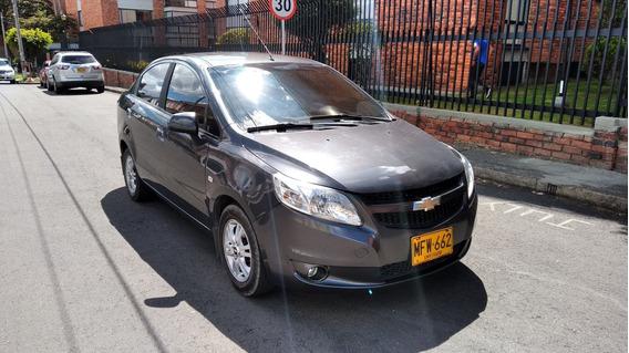 Chevrolet Sail Ltz 2013 Gris Galápago