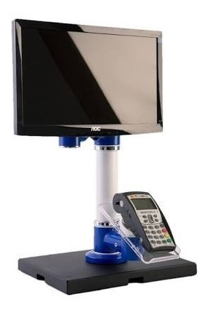 Suporte Para Monitor E Maquina De Cartão