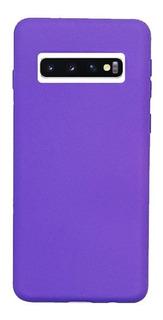 Funda Silicone Case Samsung S10 Plus Violeta