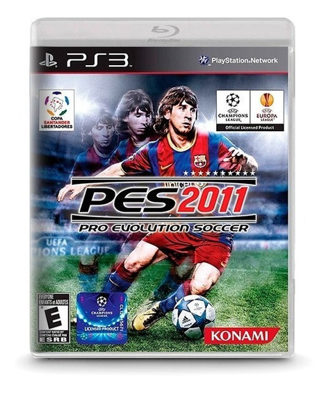 Pes Pro Evolution Soccer 2011 -novo Original Playstation Ps3