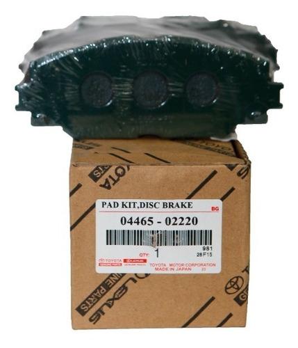 Pastillas De Freno Delanteras Corolla 2015 Importado 02220