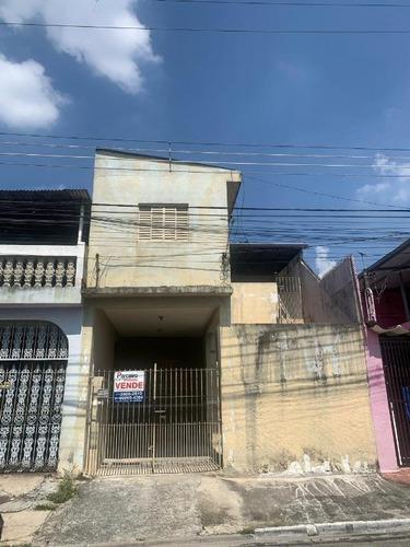 Sobrado Com 2 Dormitórios À Venda, 70 M² Por R$ 265.000,00 - Cidade São Mateus - São Paulo/sp - So2936
