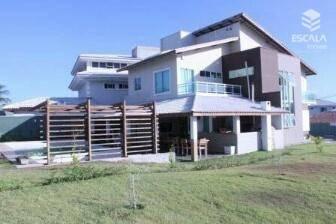 Casa Duplex 4 Quartos À Venda No Alphaville Fortaleza. 493m2, 4 Suítes, 4 Vagas, Piscina. - Ca0109