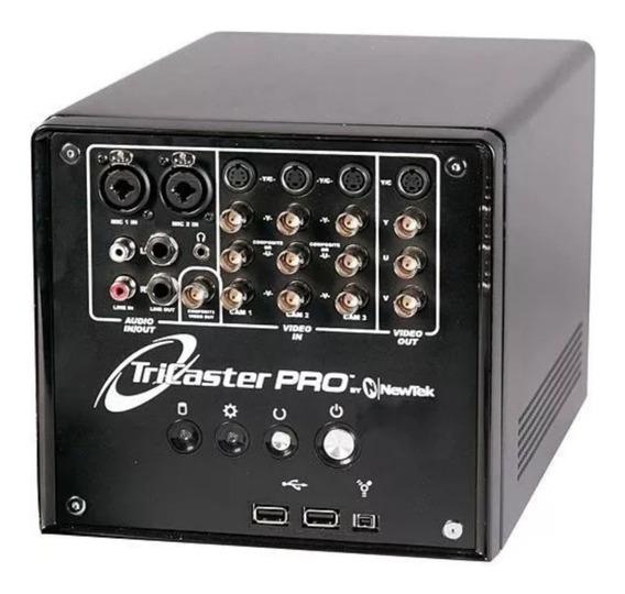 Tricaster Pro Newtek - Sem Software