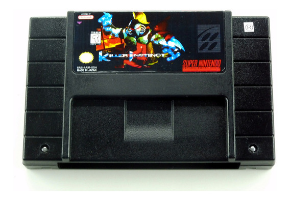 Killer Instinct Snes Original Super Nintendo