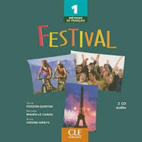 Festival 1 - 2 Cd Audio Collectifs - Cle International