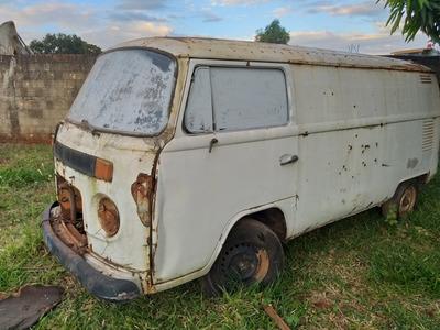 Volkswagen Kombi Diesel Sucata