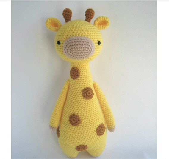DIY Jirafa Parte 1 amigurumi crochet/ganchillo (tutorial) - YouTube | 533x568