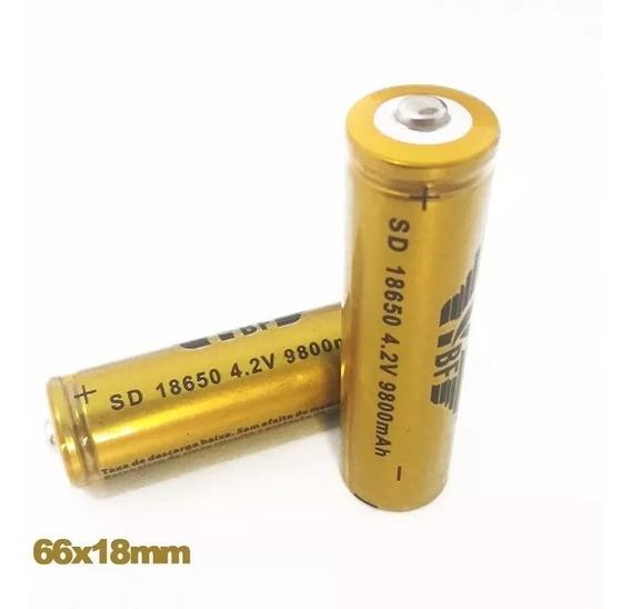 Bateria Recarregável 8800mah Lítio 18650 3.7 / 4.2 V
