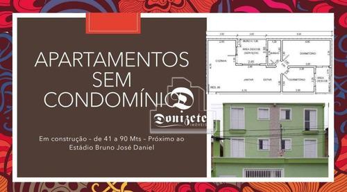 Cobertura Com 2 Dormitórios À Venda, 98 M² Por R$ 363.000,00 - Vila América - Santo André/sp - Co11854