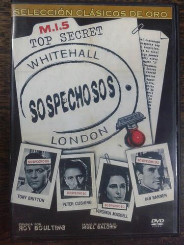 Sospechosos (1960) * Dvd Original *
