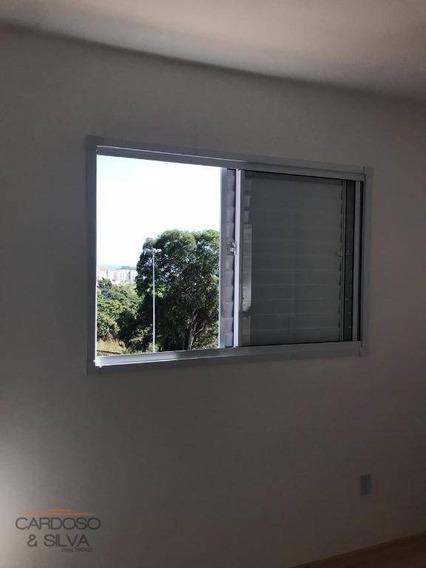 Apartamento Com 2 Dormitórios À Venda, 49 M² Por R$ 185.000 - Planalto Do Sol Ii - Santa Bárbara D