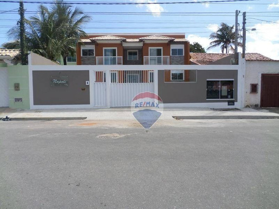 Apartamento Com 2 Quartos (1 Suíte) À Venda, 75 M² Por R$ 260.000 - Centro - São Pedro Da Aldeia/rj - Ap0443