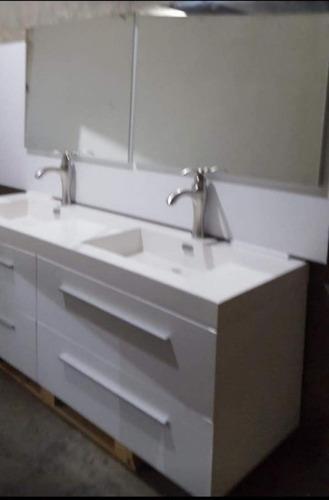 Mueble De Baño Moderno Doble Lavamanos. Modelo Lb 1800