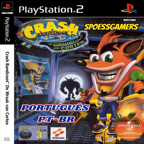 Crash Bandicoot Ps2 The Wrath Of Cortex Português Patch