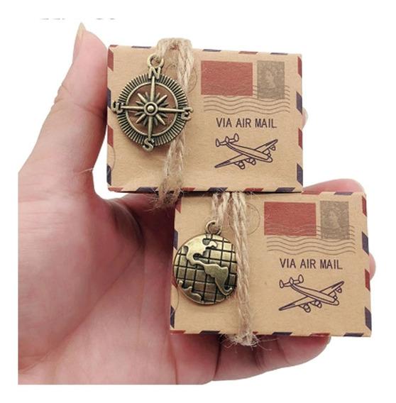 Paquete De 4 Cajitas Cajas Vintage Boda Xv Años Cajitas Kraf