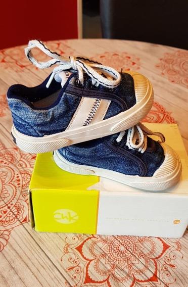 Zapatillas Cheeky Simil Jeans - Nº 19 - Varon $220 R. Mejia