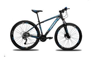 Bicicleta Aro 29 Rino - Freio Hidraulico - Shimano Acera 27v