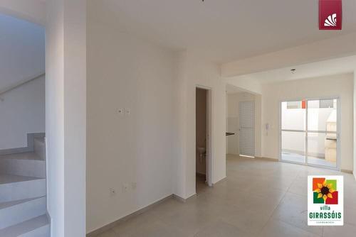 Casa Em Condomínio Para Venda Em Presidente Prudente, Condomínio Villa Girassois, 2 Dormitórios, 2 Banheiros - Ccv10038_2-1158635