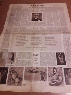 Diario La Nación Antigüedad Universo Groussac 05/07/1953