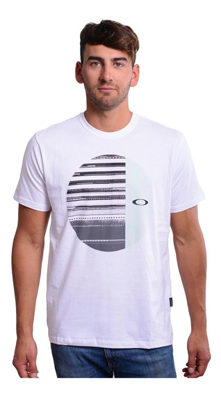Remera Oakley Disrupted Elipse -457227br-100- Trip Store