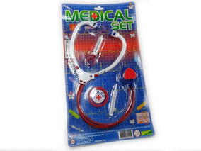 02 Kit Médico Brinquedo Educativo Medical Set