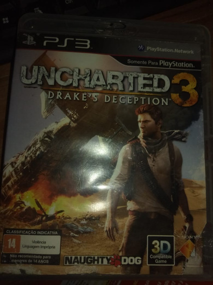 Uncharted3 Ps3 Midia Fisica
