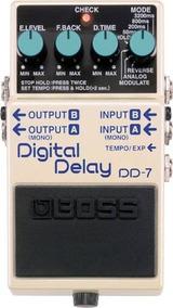Pedal Boss Dd 7 Guitarra Digital Delay Dd7 Original