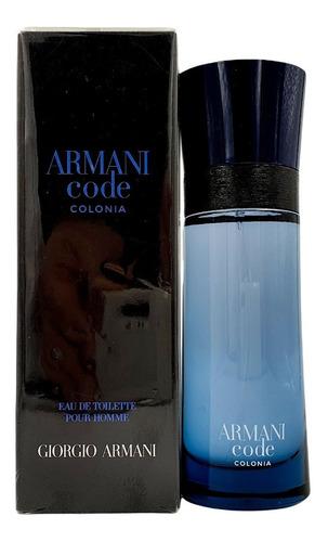 Imagen 1 de 1 de Armani Code Colonia Edt 75ml Asimco / Prestige Parfums