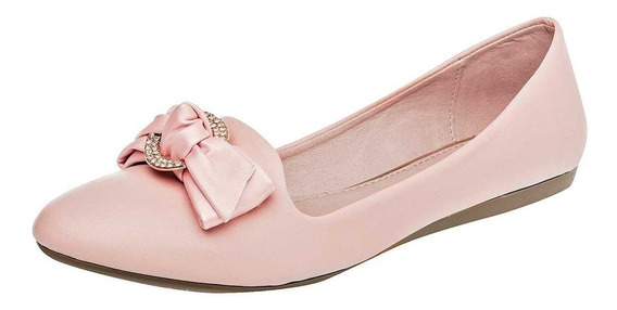 Zapato De Piso Dama Clasben 173685 Rosa 22-26 080-047 T4