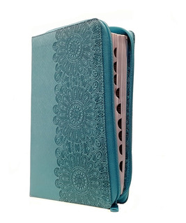Biblia Letra Grande Cierre Índice Turquesa Reina Valera 1960
