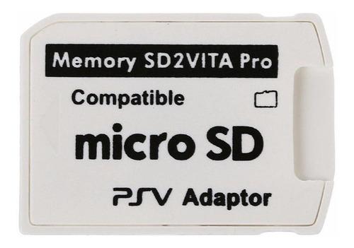 Adaptador Para Tarjeta Memoria Ps Vita Micro Sd V5.0 Consola
