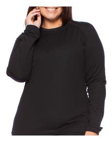 Kit 2 Camisa Blusa Térmica Femina Plus Size G2 À G4
