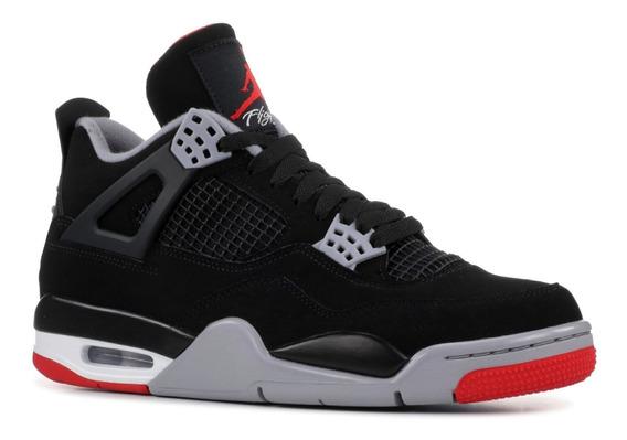 Air Jordan - Air Jordan 4 Retro Og 2019 Bred Sneaker - 30849