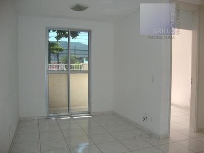 Apartamento Com 2 Dormitórios À Venda, 51 M² Por R$ 240.000 - Taquara - Rio De Janeiro/rj - Ap0142