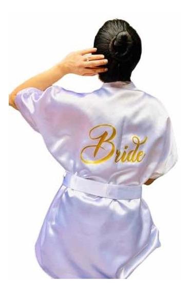 Bata Blanca Para Novia Bride To Be Wedding Day