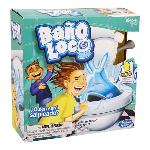 Baño Loco Juego De Mesa Hasbro Gaming - Original Piu Online
