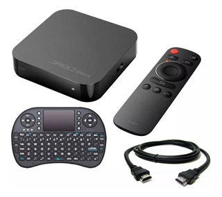 Droid Box Plus X View Convertidor Tv Smart Hd Hdmi + Teclado