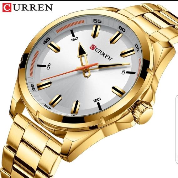 Relógio Masculino De Luxo Curren 8320 Original!!!