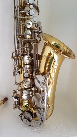 Sax Alto Yamaha Yas23 Conservadíssimo, Estojo Original.