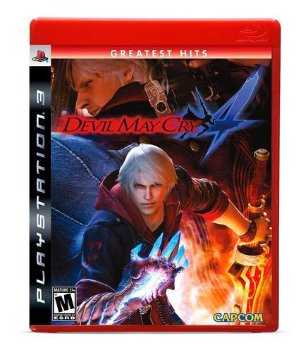 Devil May Cry 4 Dmc Hits Ps3 Game Mídia Física Lacrado + Nf