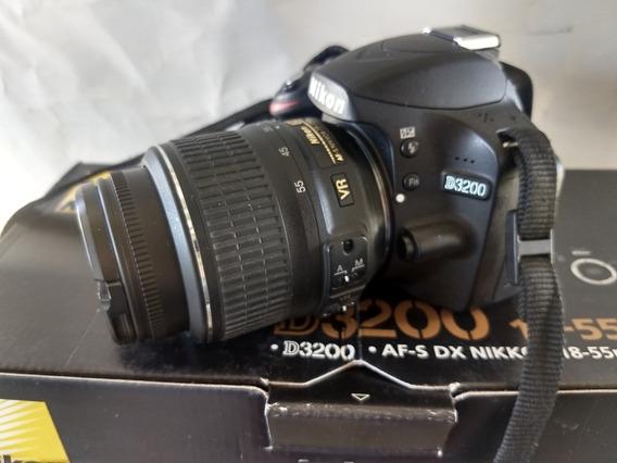 Câmera Nikon D3200 Muito Nova